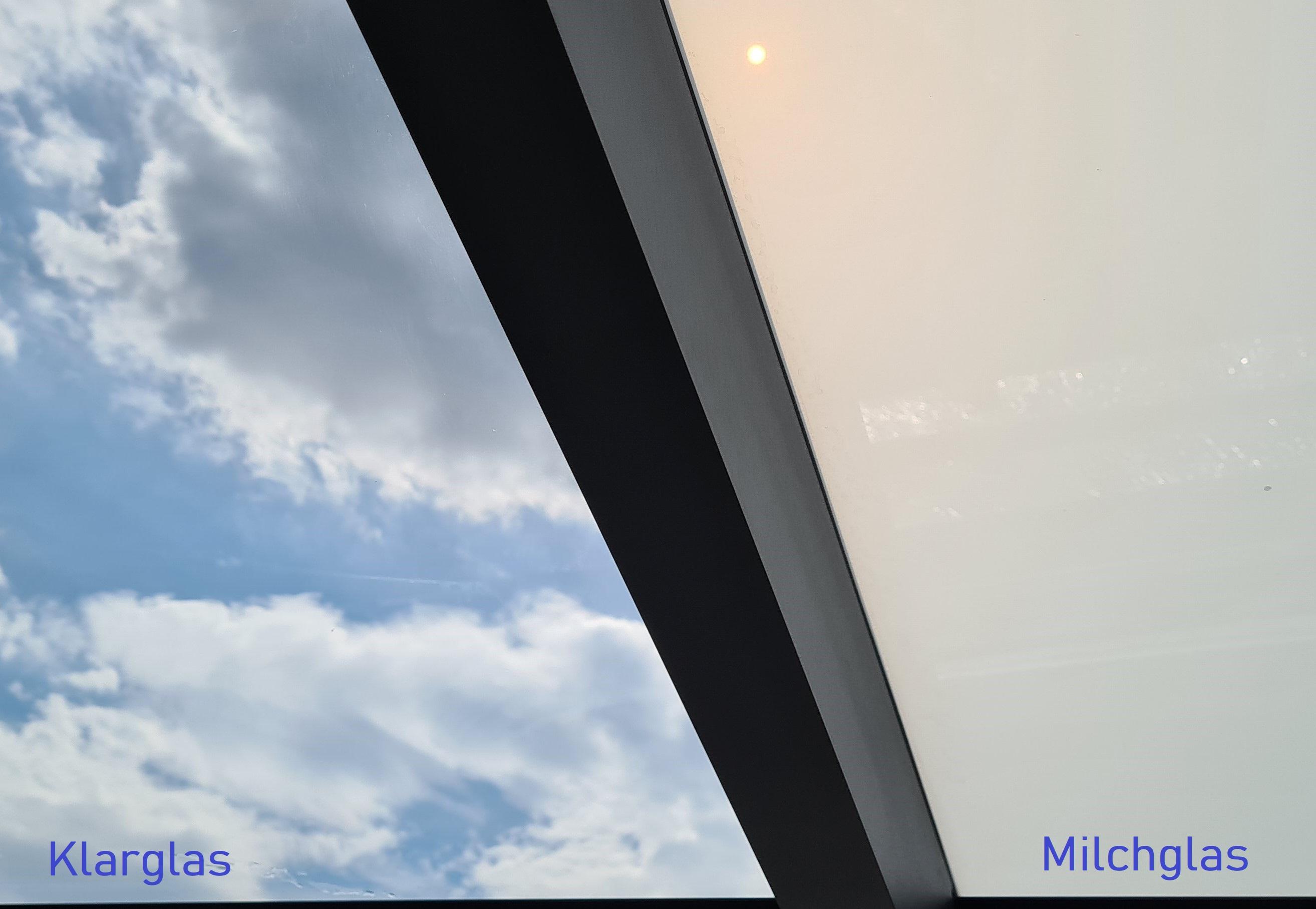 Terrassenüberdachung Eindeckung