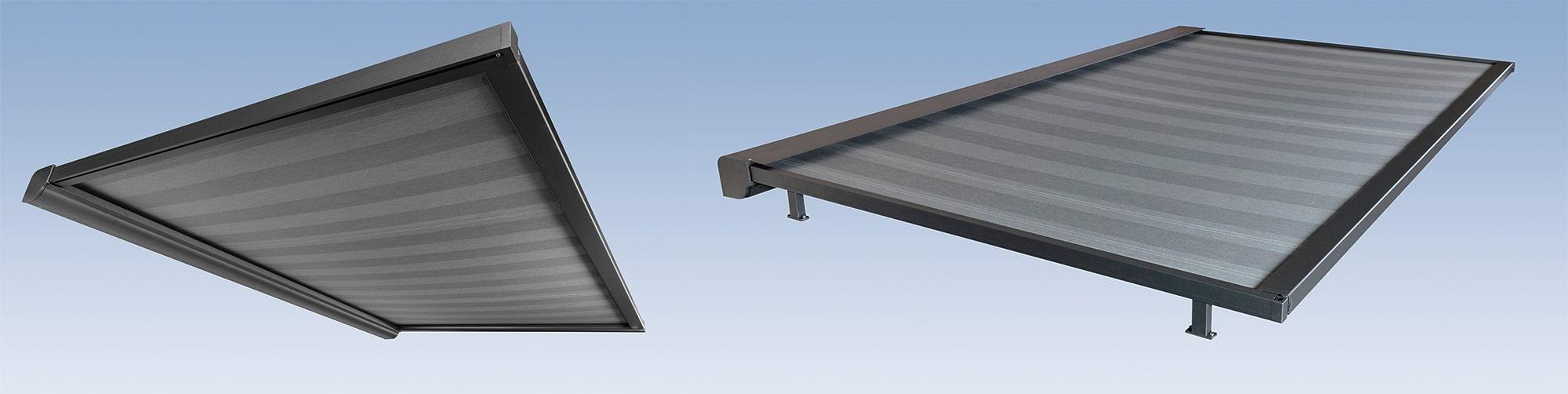 Terrassenüberdachungen - Unter auf Glasmarkise